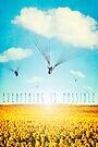 Thursday Dream - Cloud Ride by Paula Belle Flores