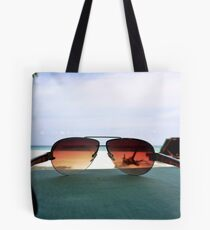 Tropical Viewpoint Tote Bag