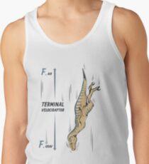 Terminal Velociraptor Men's Tank Top