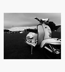 Scooter Rally Vibes Photographic Print