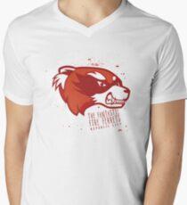 The Fantastic Fire Ferrets Men's V-Neck T-Shirt