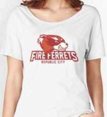 Republic City Fire Ferrets Women's Relaxed Fit T-Shirt