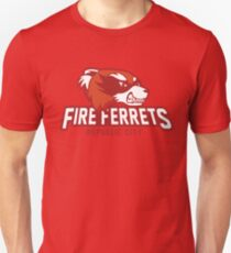 Republic City Fire Ferrets Unisex T-Shirt
