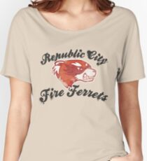 Fire Ferrets Street Shirt Women's Relaxed Fit T-Shirt