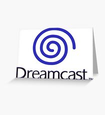 Dreamcast Greeting Card