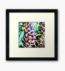 Lupin Camouflage Framed Print