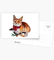 Coffee Fox Postcards