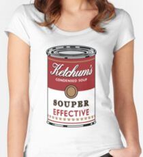 Souper Effective Women's Fitted Scoop T-Shirt