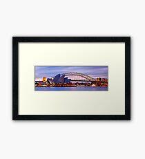 Classic Sydney, New South Wales, Australia Framed Print