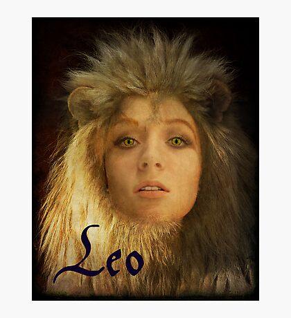 Leo Photographic Print