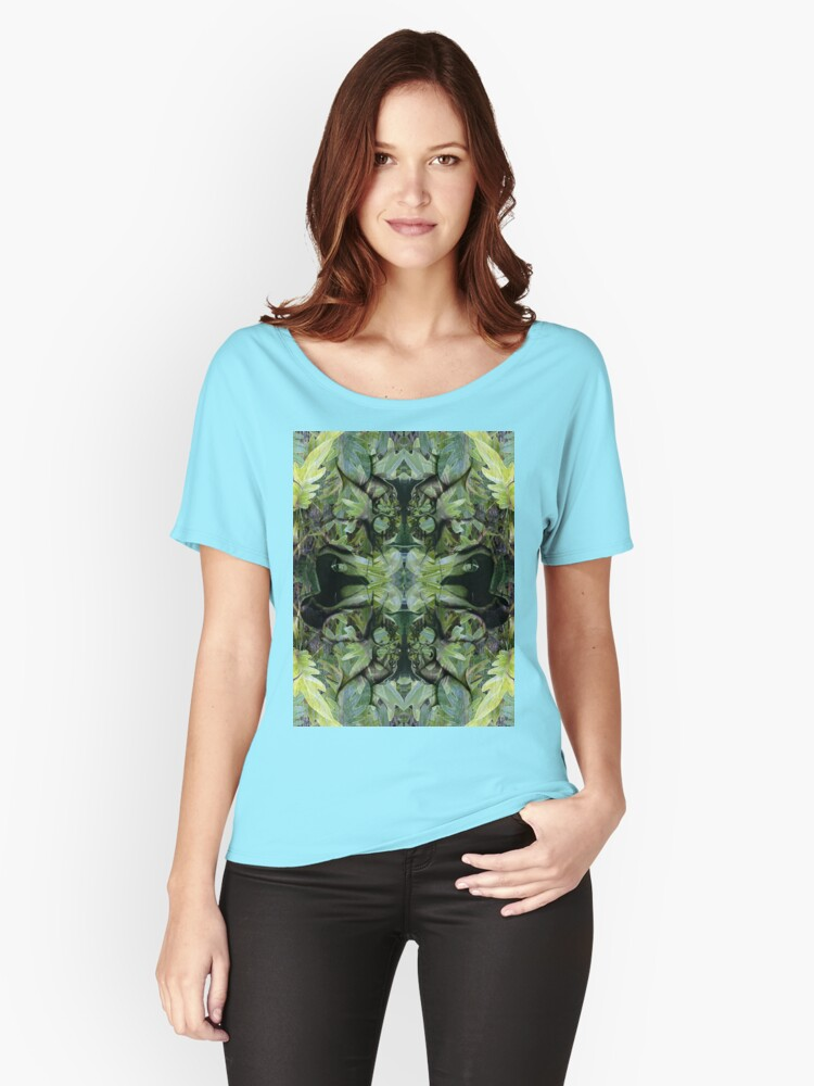 I am the Man in the Mirror Women's Relaxed Fit T-Shirt Front