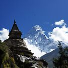 Ama Dablam by PerkyBeans