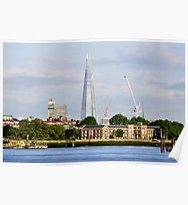 The Shard from Greenwich Poster