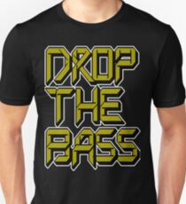 Drop The Bass (dark yellow) T-Shirt