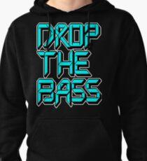 Drop The Bass (cyan) Pullover Hoodie