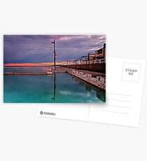 Poles, Sunset, Ocean Baths, Paradise Postcards