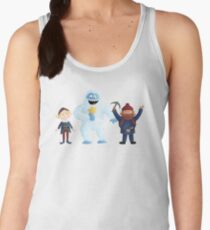 Yukon, Hermey and the Bumble in Teal Women's Tank Top