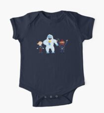Yukon, Hermey and the Bumble in Teal One Piece - Short Sleeve