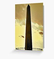 Washington Monument Greeting Card