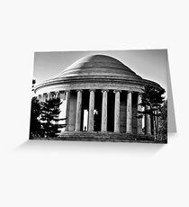 Jefferson Memorial  Greeting Card