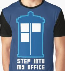 Step Into My Office Graphic T-Shirt