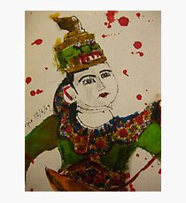 puppet with swords Photographic Print