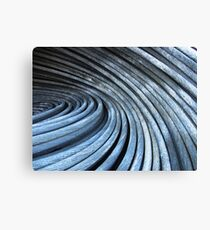 Blue wire Canvas Print