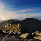 North Goatfell from Goatfell by Simon Bowen