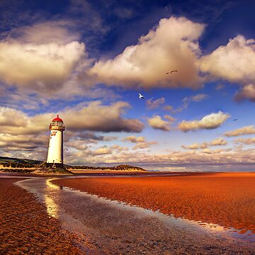 Old Talacre Lighthouse by malbraman