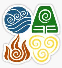 Four Elements Sticker