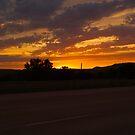 Sunset Along the Deadwood Highway by Scott Hendricks