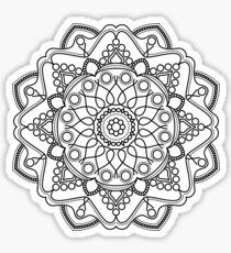 Bubbly Mandala Sticker