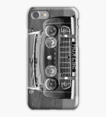 TR3 a British classic car iPhone Case/Skin