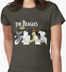 The Beagles Womens Fitted T-Shirt