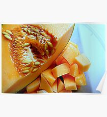 Classic Cantalope Poster