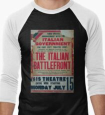 Thru special arrangement with the Italian government the Italian battlefront T-Shirt