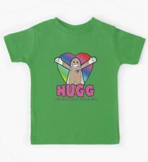 Hugg - Saving the world, one hug at a time. Kids Tee