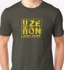 SIEG ZEON!!! Unisex T-Shirt