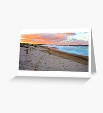 Lakes Beach, Budgewoi Greeting Card