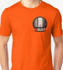 Rust pin Unisex T-Shirt