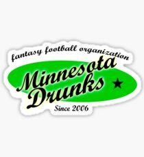 Minnesota Drunks Sticker