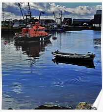 Howth Head Harbor Poster