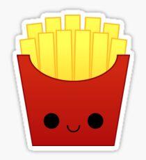 Kawaii Fries Stickers Redbubble