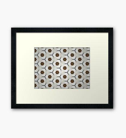 Kaleidoscope 5 Framed Print