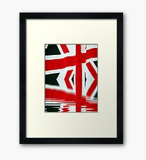 Team Great Britain Framed Print