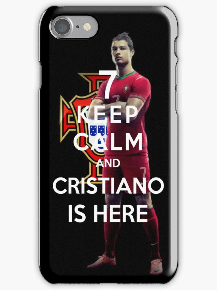 Keep Calm And Cristiano Is Here by Miltossavvides