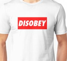 disobey (obey parody) Unisex T-Shirt