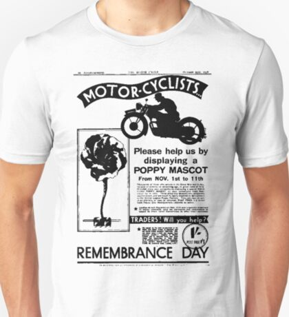 Motor-Cyclists T-Shirt