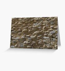 Rough stone wall (Karakul) Greeting Card