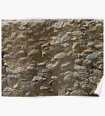 Rough stone wall (Karakul) Poster